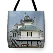 Hooper Straight Lighthouse Tote Bag