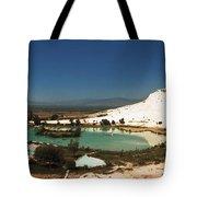 Hot Springs And Travertine Pool Tote Bag