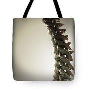 Human Spinal Bones Tote Bag