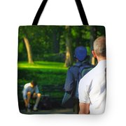 Into The Park Tote Bag