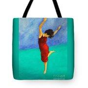 Jump Of Joy Tote Bag