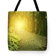 Jungle Light Tote Bag