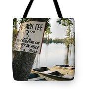 Launch Fee Tote Bag