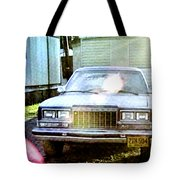 Lets Rock Tote Bag by Luis Ludzska