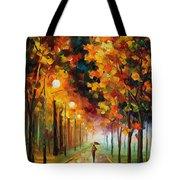 Light Of Autumn Tote Bag