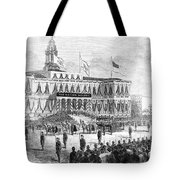 Lincoln's Funeral, 1865 Tote Bag