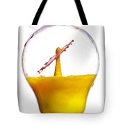 Liquid Coronet  Tote Bag