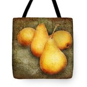 4 Little Pears Are We Tote Bag