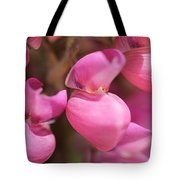 Lupine Named Gallery Pink Tote Bag