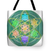 Mandala Is An Object It Is Your Spirit To Meditate And Be In Touch With Cosmic Forces That Matters Tote Bag