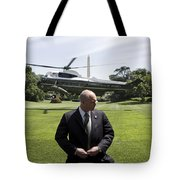 Marine One Tote Bag