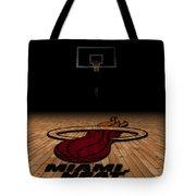 Miami Heat Tote Bag