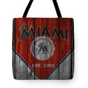 Miami Marlins Tote Bag