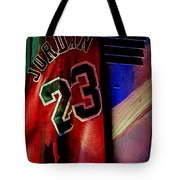 Michael Jordon Tote Bag