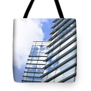 Modern Building Tote Bag by Tom Gowanlock