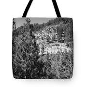 Mountainside Near Lake Tahoe Tote Bag