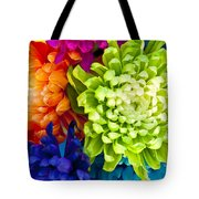 Multicolored Chrysanthemums  Tote Bag
