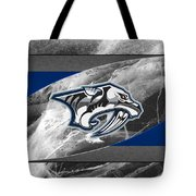 Nashville Predators Tote Bag