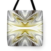 Nonstop Apple Blossom Abstract Tote Bag