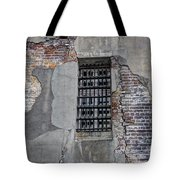Vintage Jail Window Tote Bag