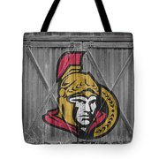 Ottawa Senators Tote Bag