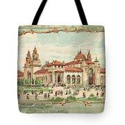 Pan-american Exposition Tote Bag