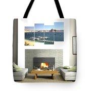 4-panel - Lake Powell Marina Tote Bag