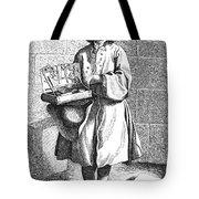 Paris Street Vendor, C1740 Tote Bag