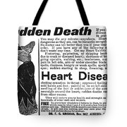 Patent Medicine, C1890 Tote Bag