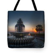 Charleston Sunrise  Tote Bag