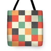 Pixel Art Square Tote Bag