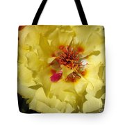 Portulaca Named Happy Hour Banana Tote Bag