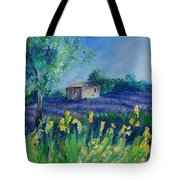 Provence Lavender Field Tote Bag