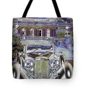 Psychedelic Classic Lagonda Tote Bag