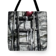 Red Balloon Tote Bag by Joana Kruse