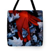 Red Gloves Tote Bag