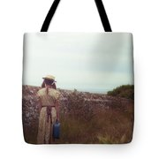 Refugee Girl Tote Bag