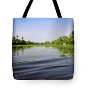 Ripples On The Saltwater Lagoon Tote Bag