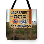 Route 66 - Jack Rabbit Trading Post Tote Bag