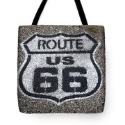 Route 66 Shield Tote Bag