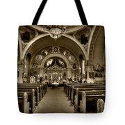 Saint Marys Orthodox Cathedral Tote Bag