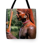 Samburu Warrior Tote Bag