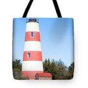 Sapelo Island Lighthouse Sapelo Island Georgia Tote Bag