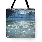 Scenic View Of Stairway Glacier R Tote Bag
