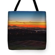 Seattle Skyline Waterfront Tote Bag