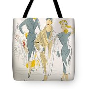 Sketches And Fabric Swatches Tote Bag