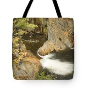 Smalls Falls In Western Maine Tote Bag