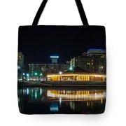 Spokane Washingon Downtown Streets And Architecture Tote Bag