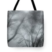 Storm Trees Tote Bag