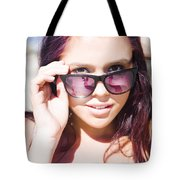 Summer Fashion Tote Bag